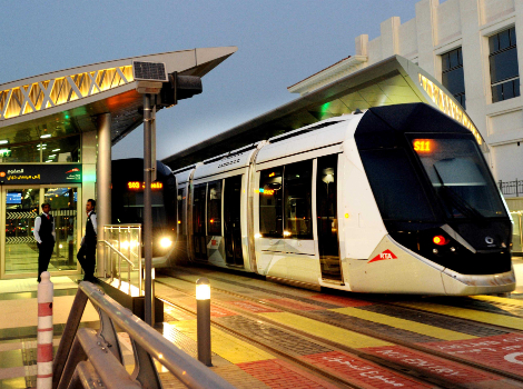 an image of Dubai Tram