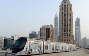 2 m riders use Dubai Tram in first half of 2015