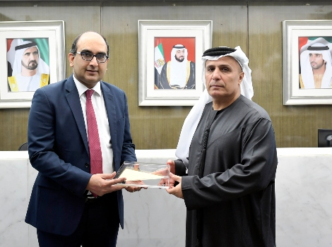 Article image of Al Tayer explores cooperation with Indian Consul in Dubai