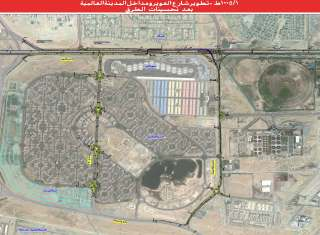 Project image of Improving of Al Awir Road, Entrances of International City