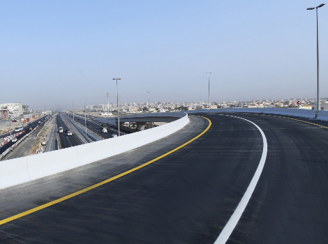 Project image of Improvement of Al Awir Road, Entrances of International City