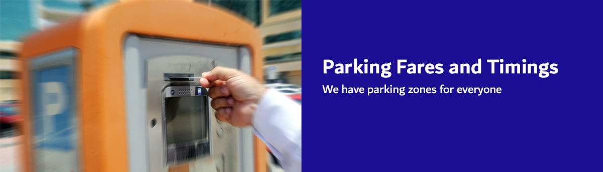 image New Parking fares and timing