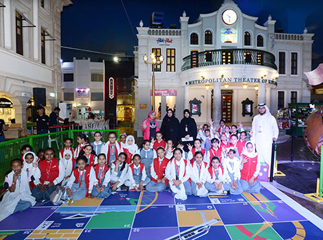 RTA visits disabled, offers entertainment tours to students