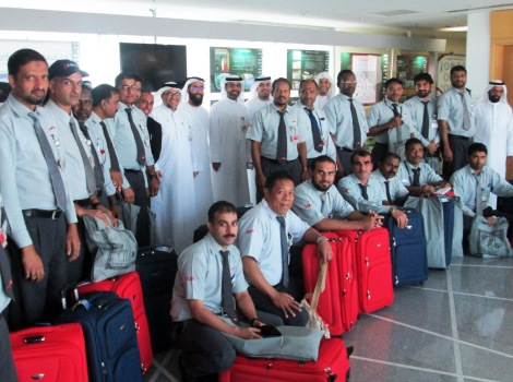 Delighting Dubai Bus drivers with Umrah trip to embody the Year of Giving