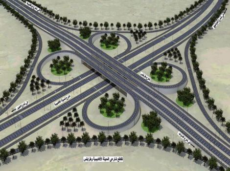 Improvement of Airport, Tripoli Roads