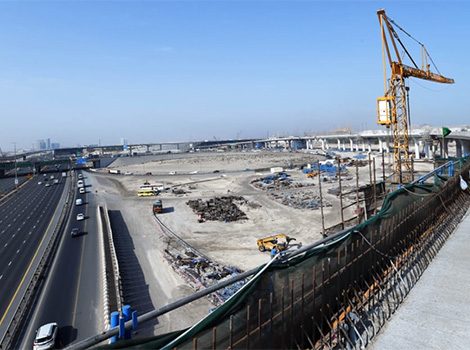 Project image of Phase 1 of 7th Interchange, Al Yalayes and Al Asayel Road Projects