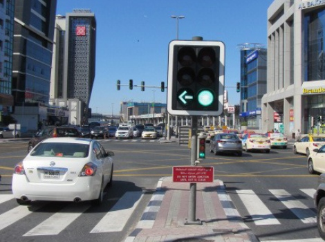 Completion of final phase of connecting light signals with traffic control center