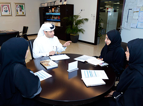 Launching 'Young Leader Day' initiative to enhance capabilities of Emirati employees