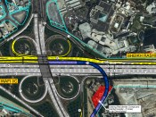 RTA starts Construction of 700 meter-long Bridge at Wafi Interchange