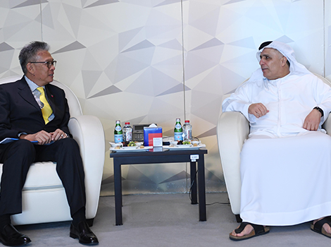an image of Al Tayer discusses cooperation with Thai Council of State