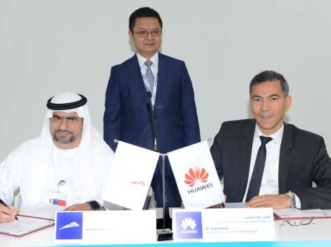 MoU with Huawei on the sideline of its participation in GITEX 2016
