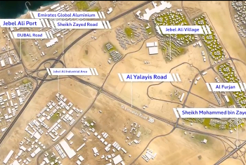 video of Opening of the 1st phase of the 7th Interchange Project and Al Yalayes Rd., on September 15, 2018