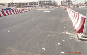 diversions at Al Wasl Road