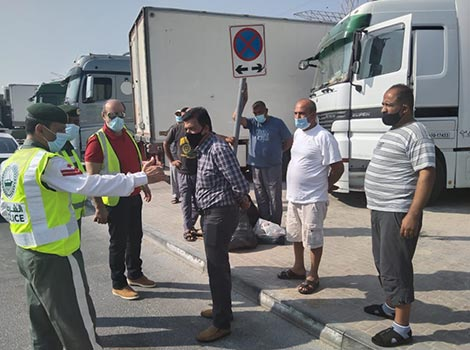 Article image of Awareness campaign for truck drivers
