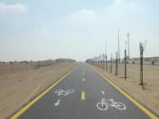 The Dubai Cycling Track