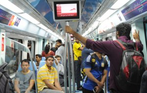 Dubai Metro lifts 14m riders