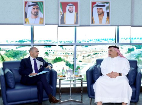 Al Tayer receives French Consul in Dubai