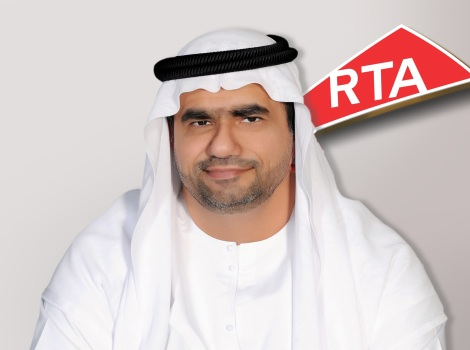 Image of Abdulla Al Madani, CEO of RTA's Corporate Technology Support Services Sector