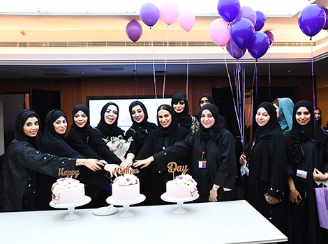 RTA Women Committee celebrating female employees on Mother's Day