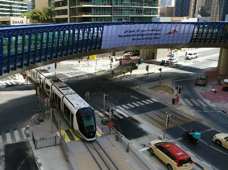 Click here to read about Opening 4-way footbridge at vital Dubai Marina junction project