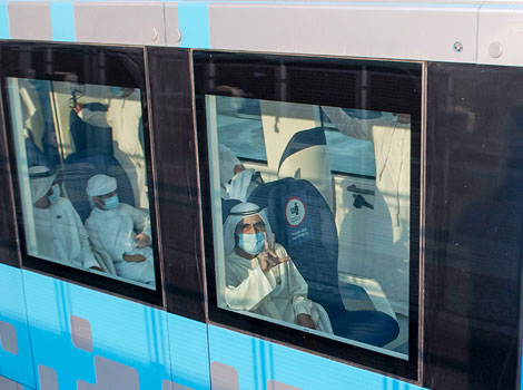 an image of Dubai Metro