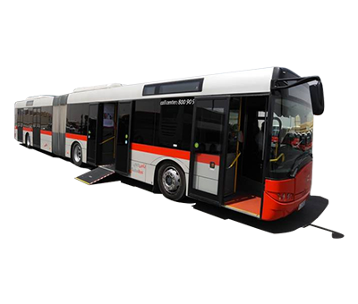 Articulated bus modal