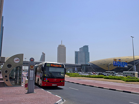 an image of Dubai Bus