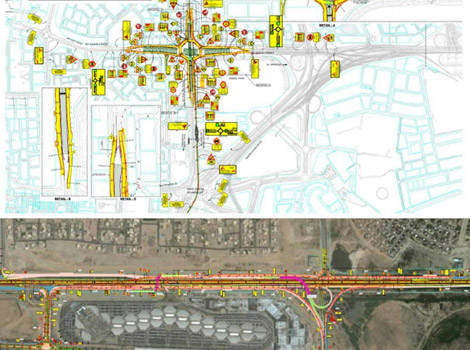 Opening traffic diversions to upgrade Shandagha, entrances of International City