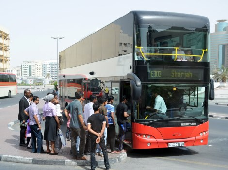 Public transport in Dubai in 2016