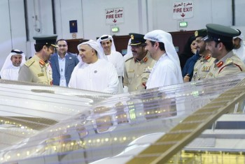 vedio of Al Tayer inspects RTA stand in Government Achievements Exhibition