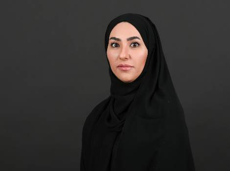 an image of Mehailah Al Zahmi, Director of Customers Happiness at RTA's Corporate Administrative Support Services Sector