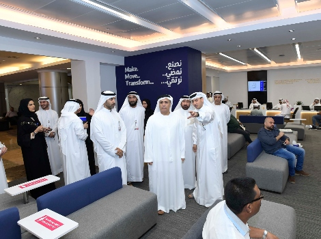 an image of Al Tayer touring Customers and Employees Service Centre