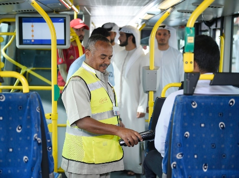 an image from the joint inspection campaigns in buses and facilities