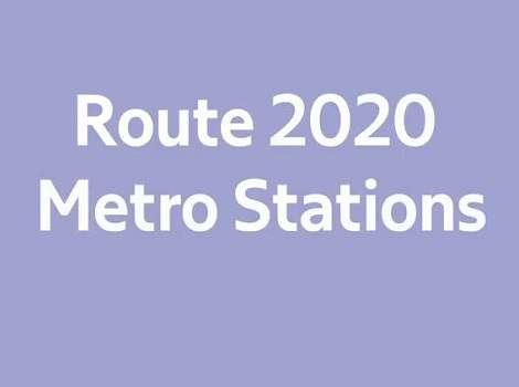 video of Route 2020 metro stations
