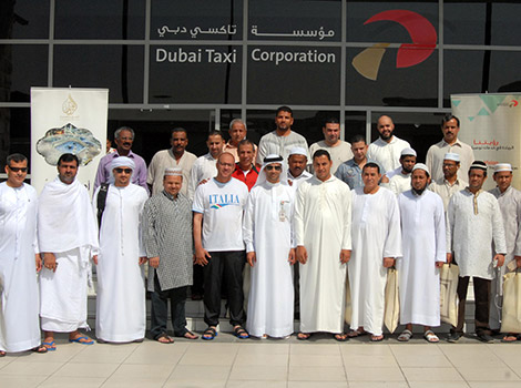 Dubai Taxi organizes Umrah trips for cabbies in Ramadan