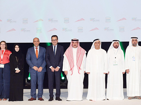 an image from the closing session of MENA Transport Congress & Exhibition