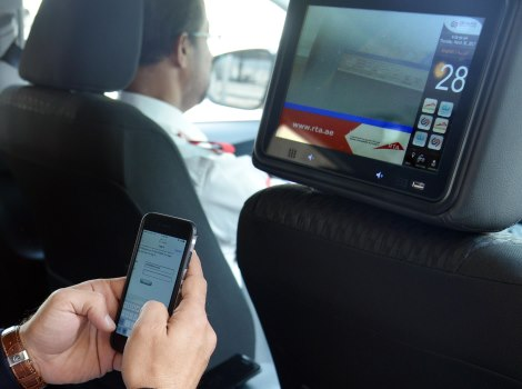 Launching Phase II of Interactive Screens and Wi-Fi in taxicabs Project
