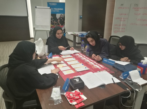 An image from the 1st 'Tamkeen with RTA' Programme
