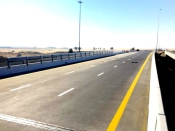 Project image of A new Bridge at Al Qudra - Lehbab Road