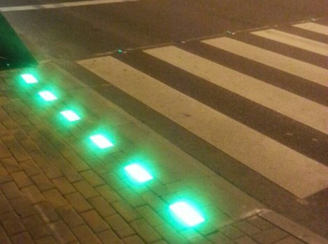 Trial run of smart pedestrian signal to ensure safe crossing