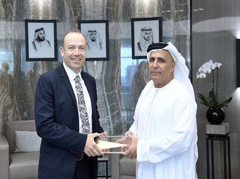 Al Tayer receiving the British Minister