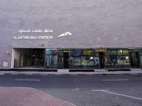 an image of Al Satwa bus station