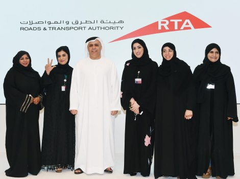 Part of RTA's celebrations of International Women's Day