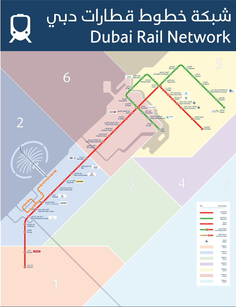 Roads & Transport Authority - Dubai Metro Naming Rights